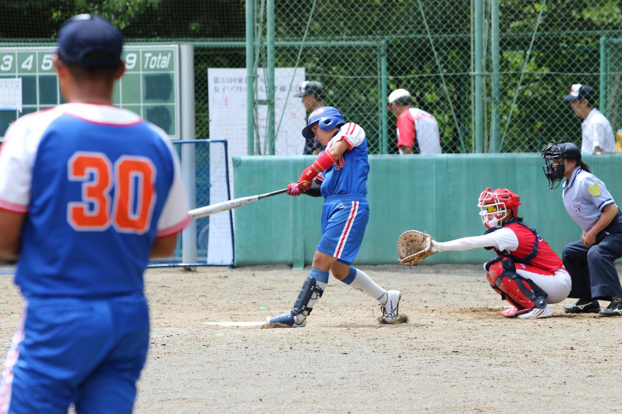 【取材報告】第33回東日本女子ソフトボール選手権大会