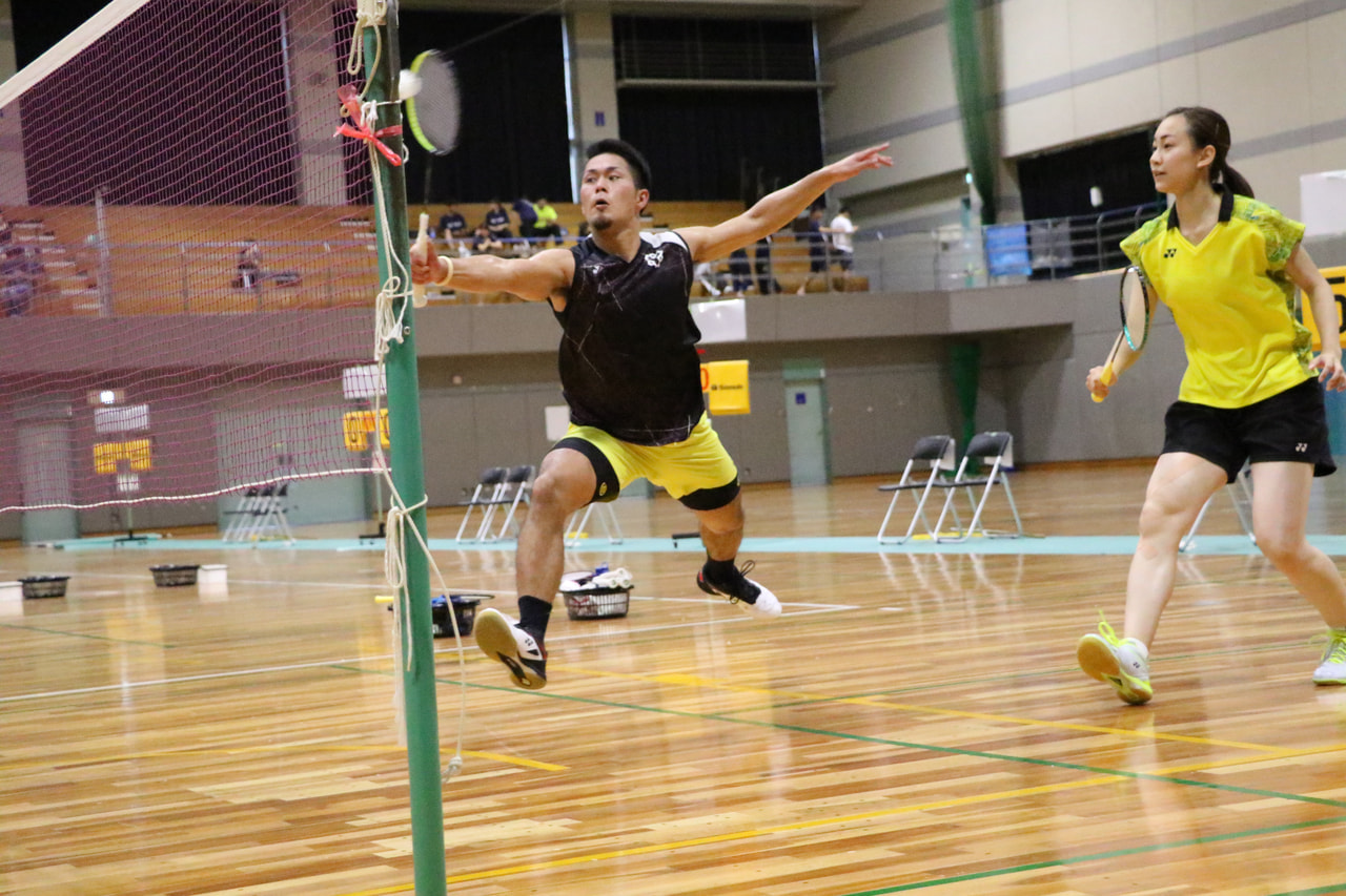 【取材報告】第6回文部科学大臣杯争奪全日本学生バドミントンミックスダブルス選手権大会