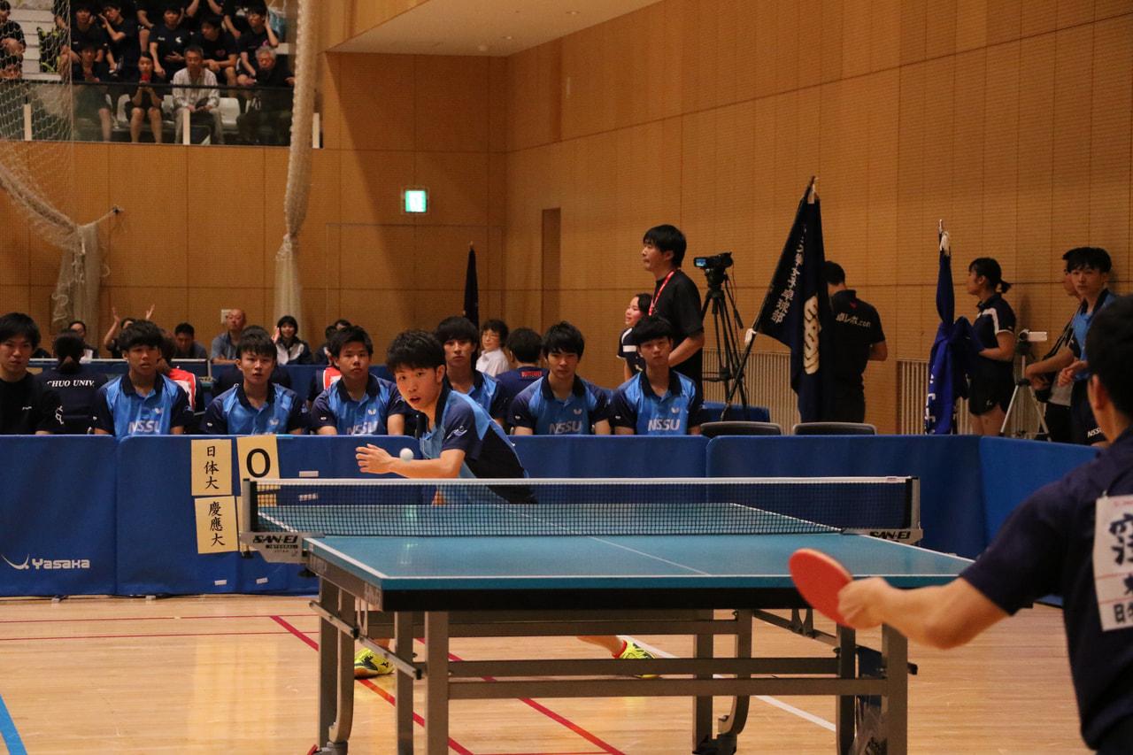 【取材報告】第88回全日本大学総合卓球選手権大会・団体の部