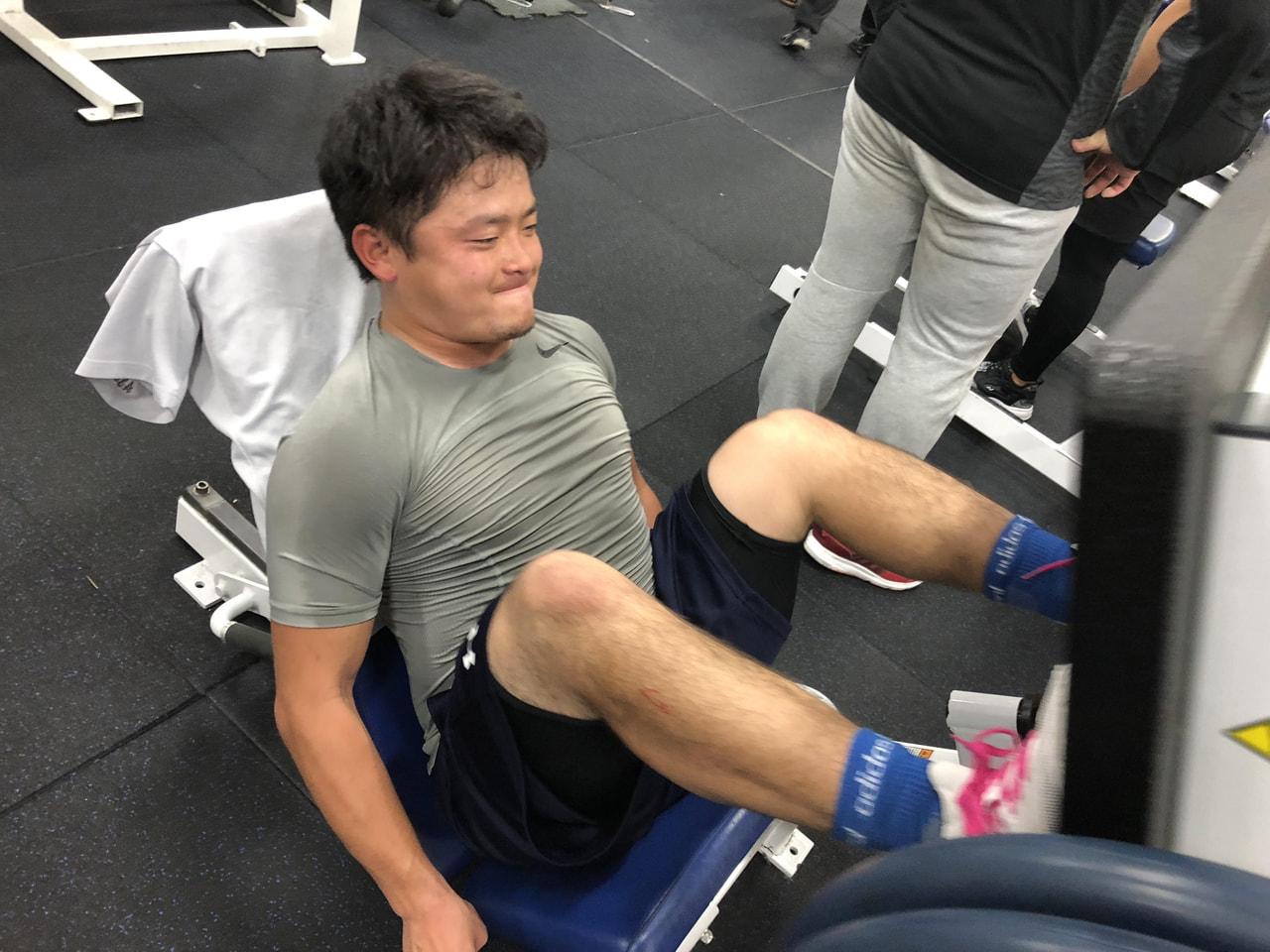 4月24日 ウエイトトレーニング