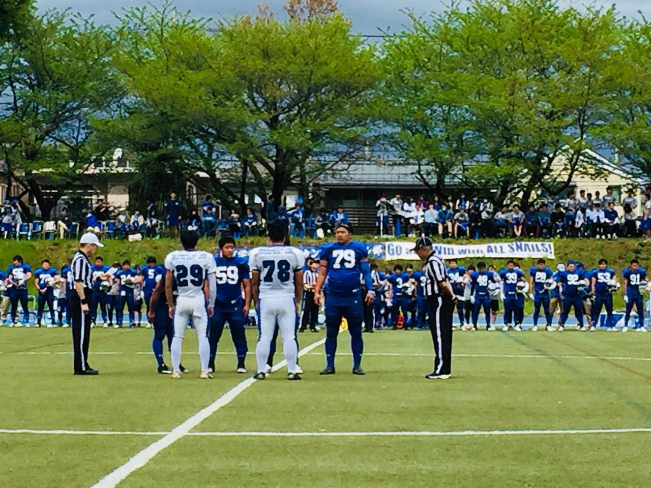 【春季リーグ戦】4月15日 東京学芸大学SNAILS戦