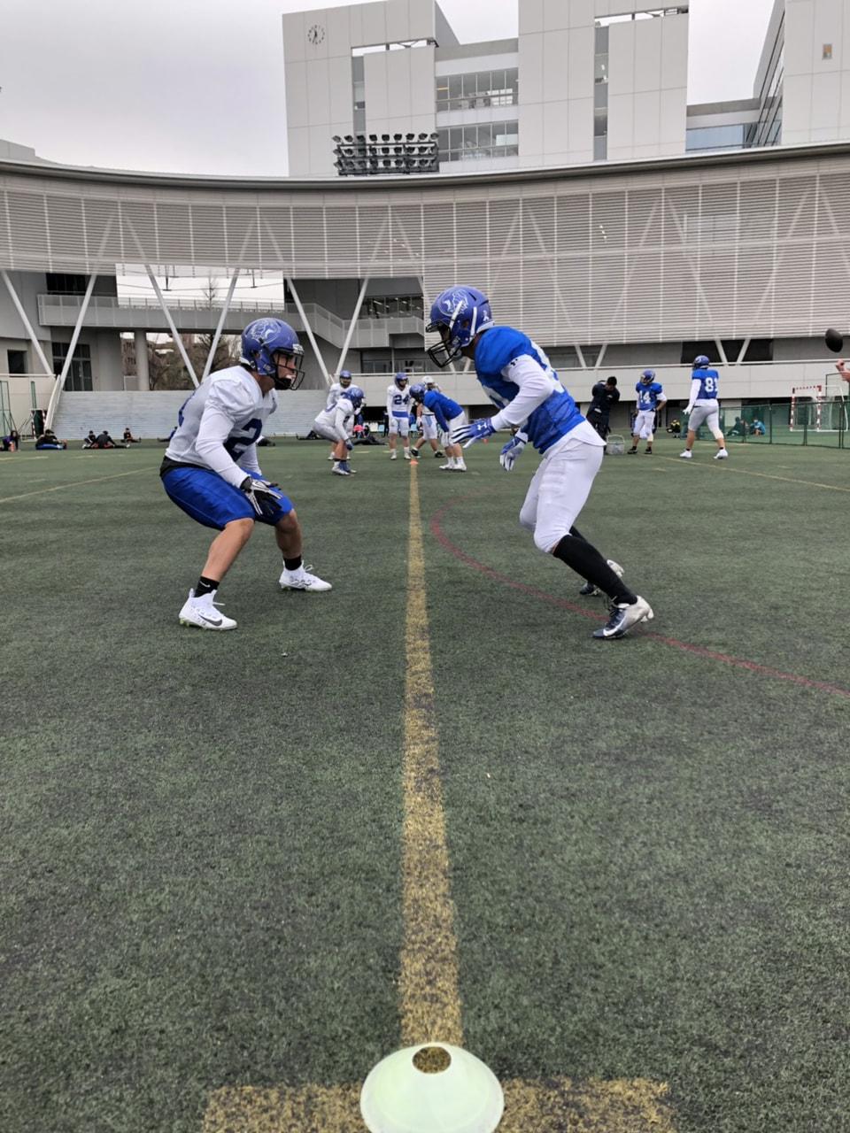 3月29日 本日の練習の様子