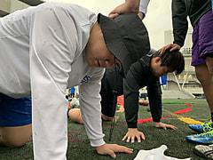 2月14日 本日の練習の様子