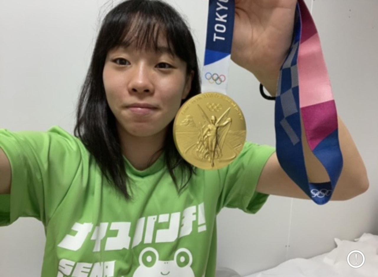 入江 金メダル獲得おめでとう!!!
