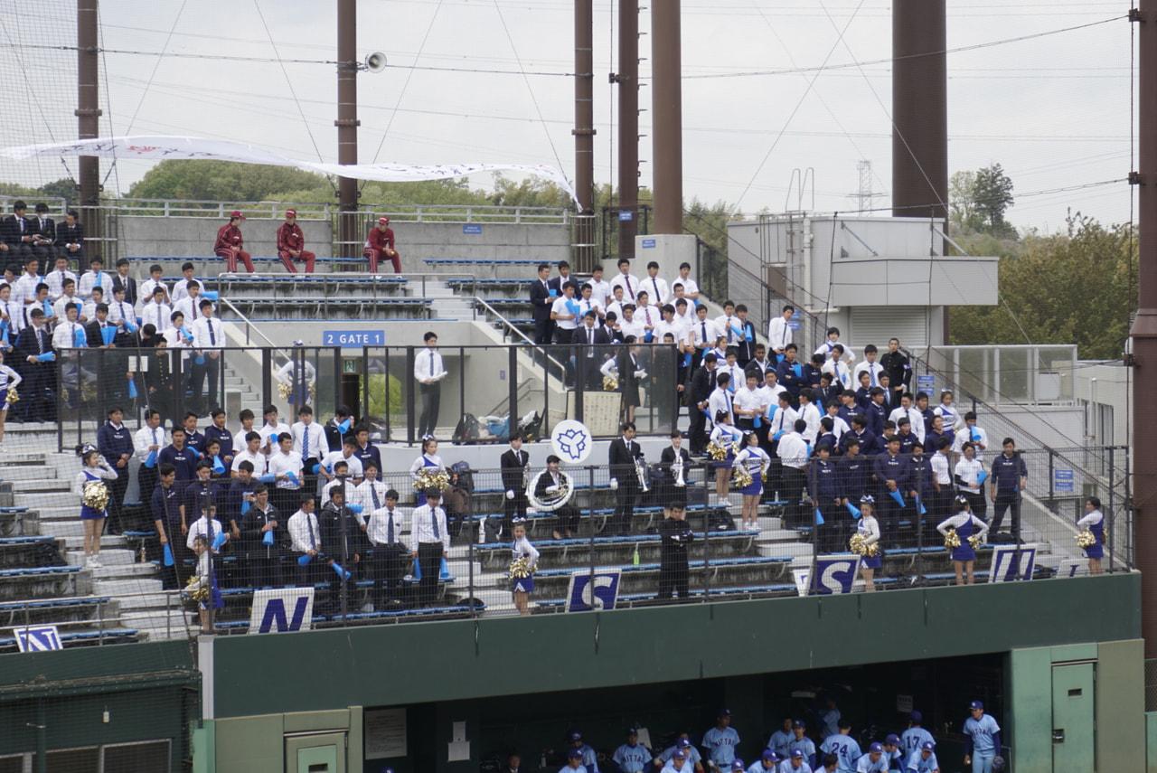 春季首都大学野球 vs武蔵大学第一戦