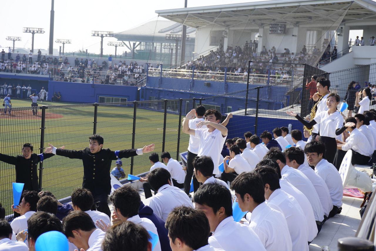 春季首都大学野球 vs武蔵大学第三戦