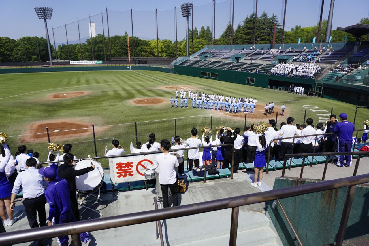 春季首都大学野球 vs筑波大学第一戦