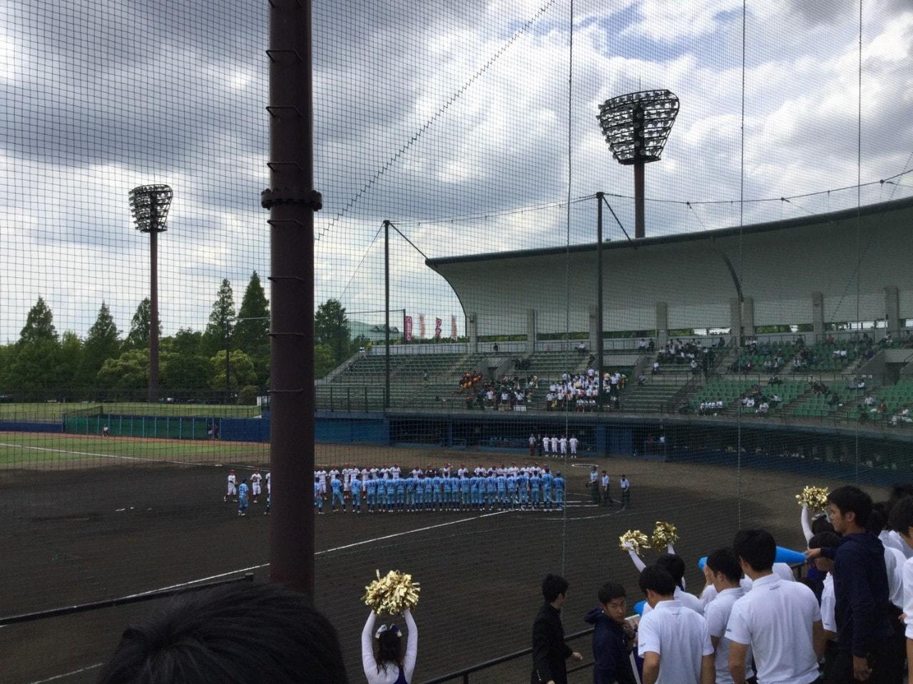 春季首都大学リーグvs桜美林大学第1戦