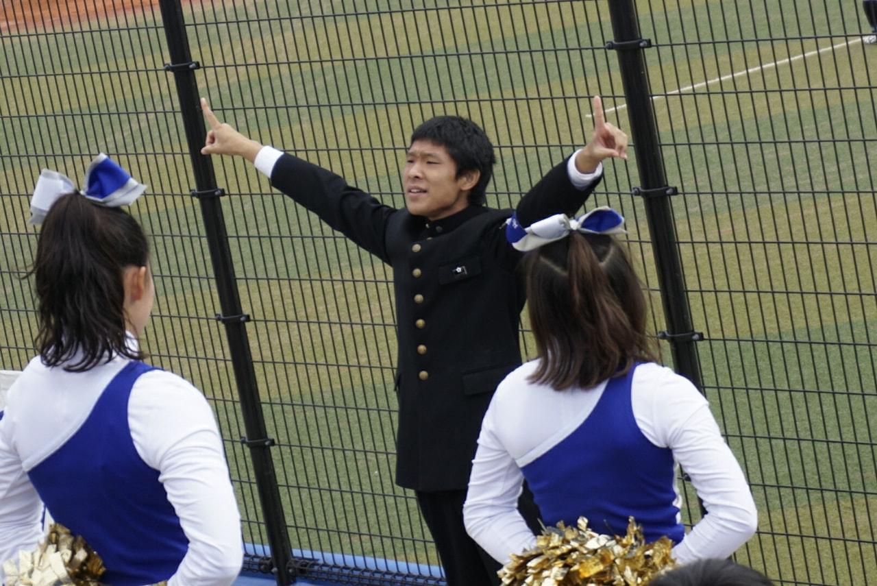 秋季首都大学野球連盟リーグ戦対筑波大学第2戦
