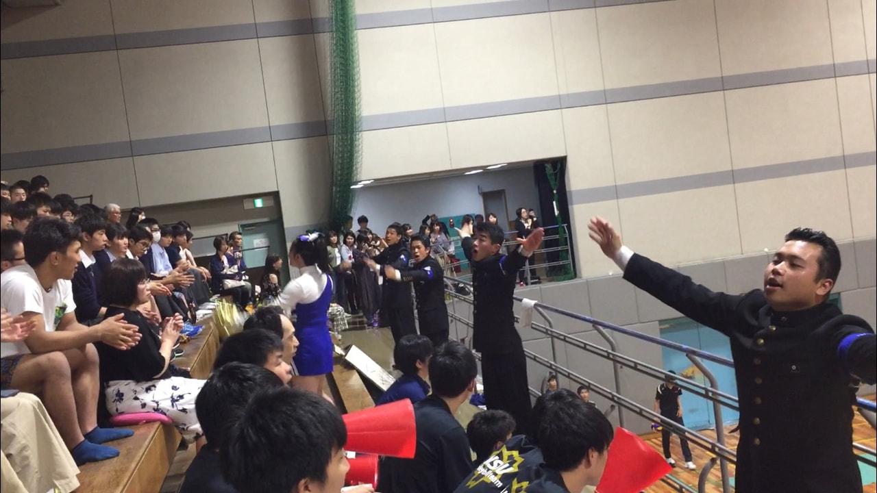 2018年春季関東大学男子1部バレーボールリーグ戦対早稲田大学