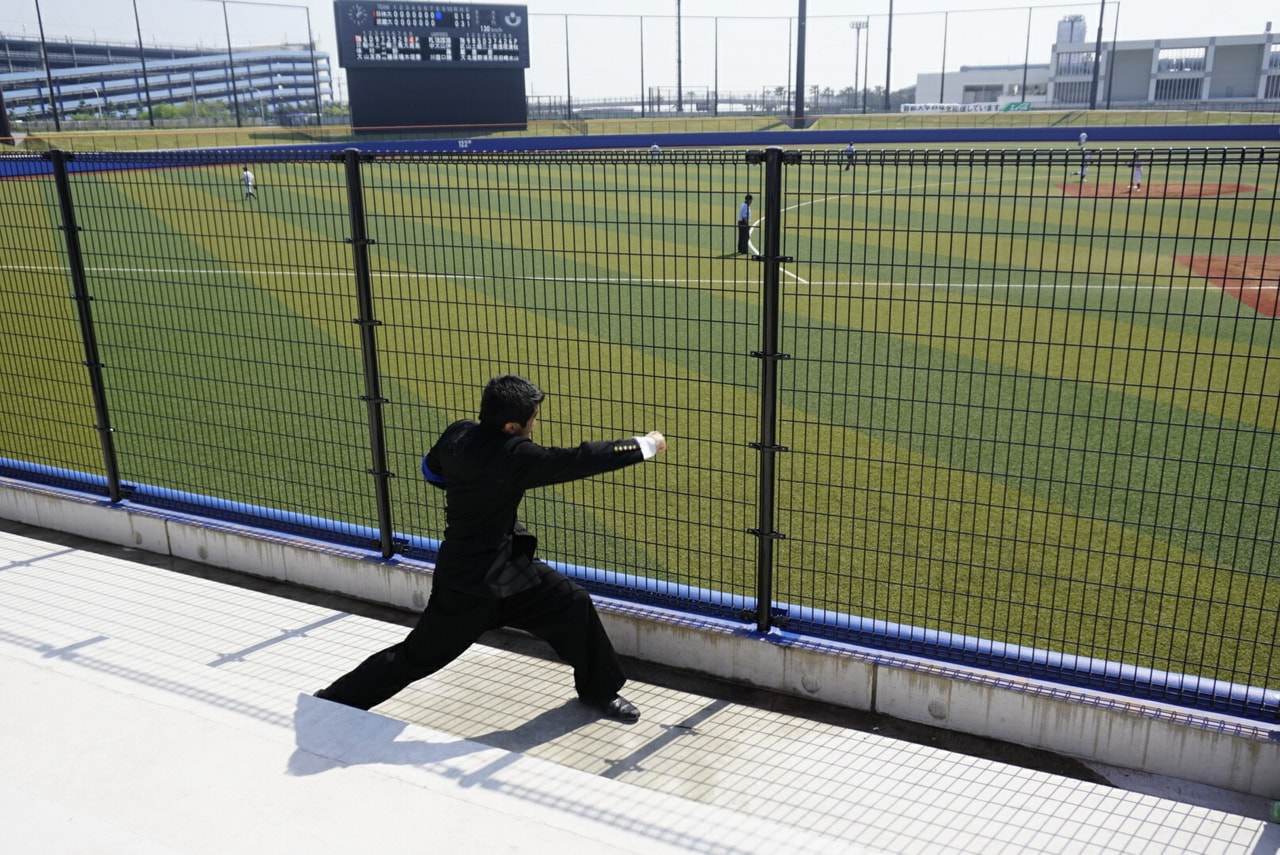 春季首都大学野球連盟リーグ戦対武蔵大学第3戦