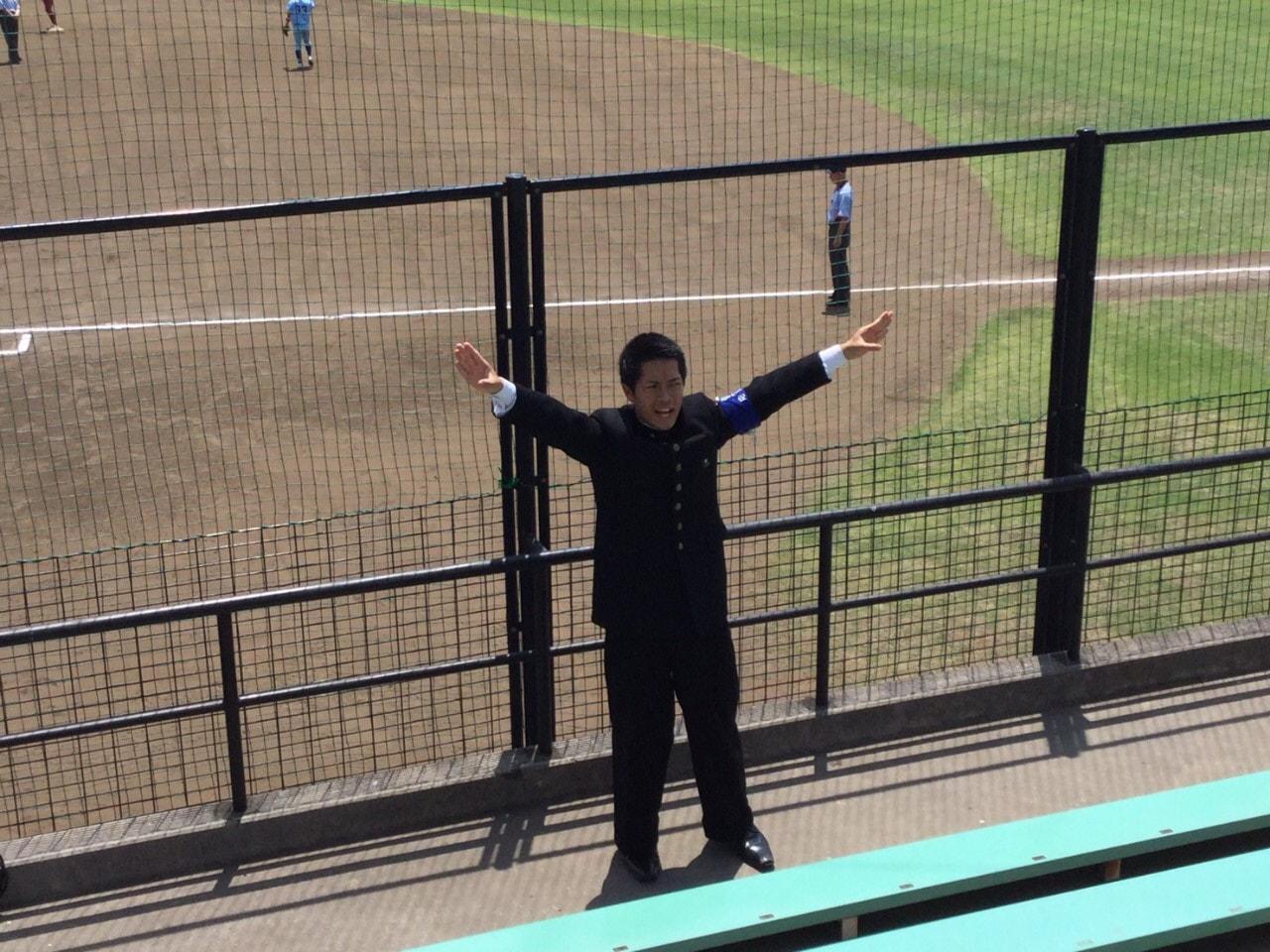 春季首都大学野球連盟リーグ戦対桜美林大学第2戦