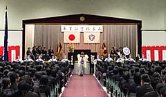 平成30年度日本体育大学桜華中学校・高等学校卒業証書授与式