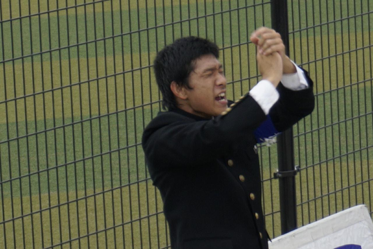 秋季首都大学野球連盟リーグ戦対筑波大学第一戦