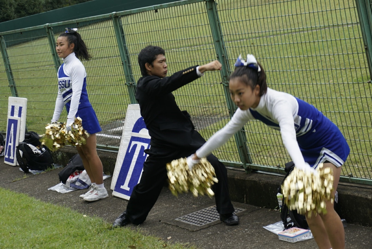 秋季首都大学野球連盟リーグ戦対桜美林大学第3戦