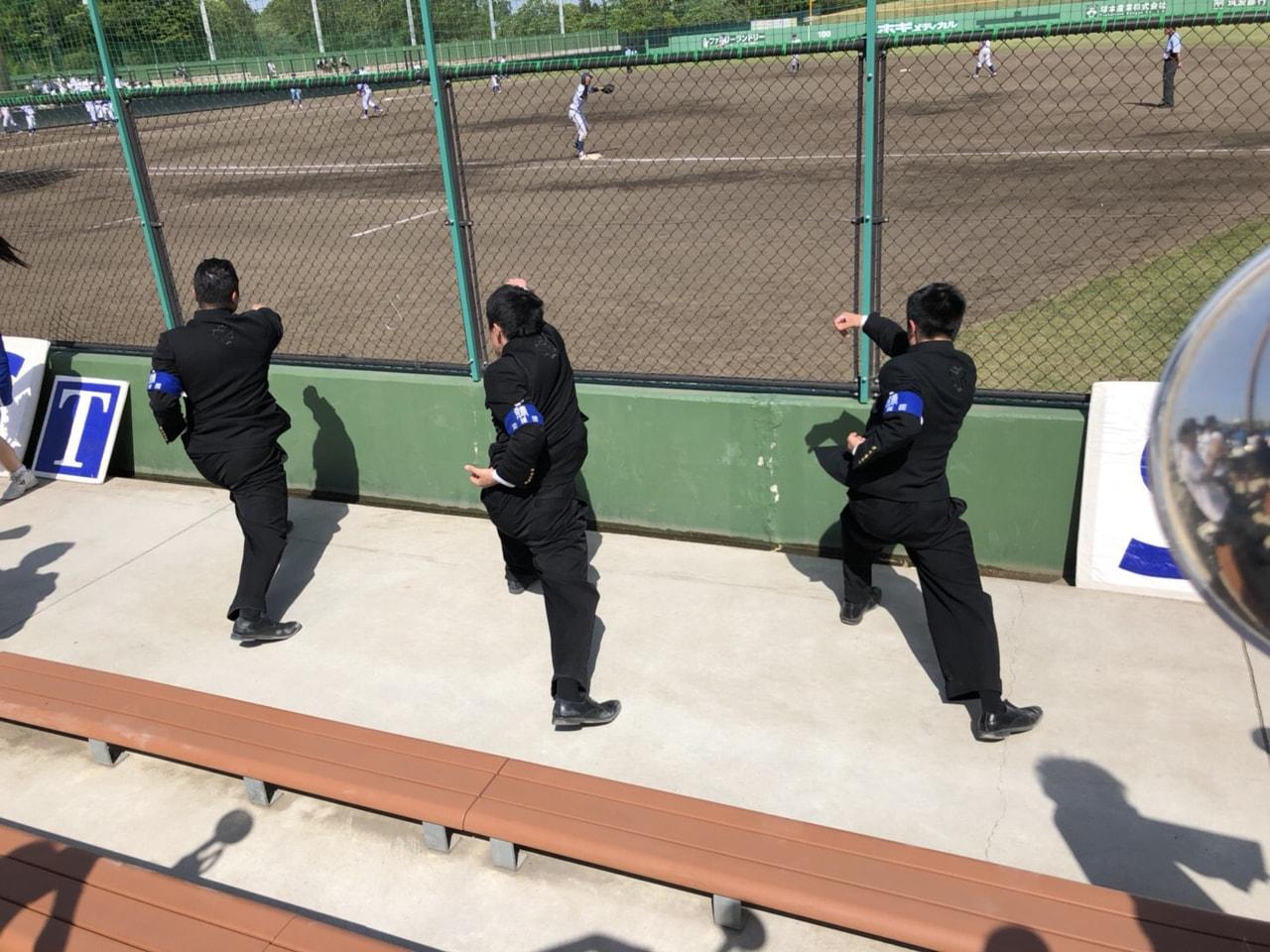 春季首都大学野球連盟リーグ戦対帝京大学第2戦