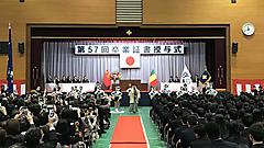 平成31年度日本体育大学柏高等学校卒業証書授与式