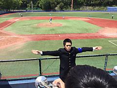 春季首都大学野球連盟リーグ戦対筑波大学第2戦
