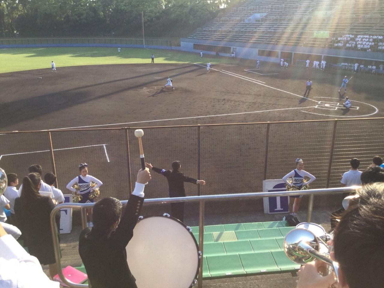 春季首都大学野球連盟リーグ戦対武蔵大学第2戦