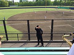 春季首都大学野球連盟リーグ戦対桜美林大学第1戦