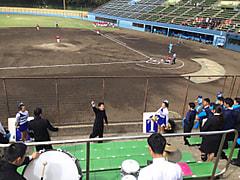 春季首都大学野球連盟リーグ戦対帝京大学第3戦