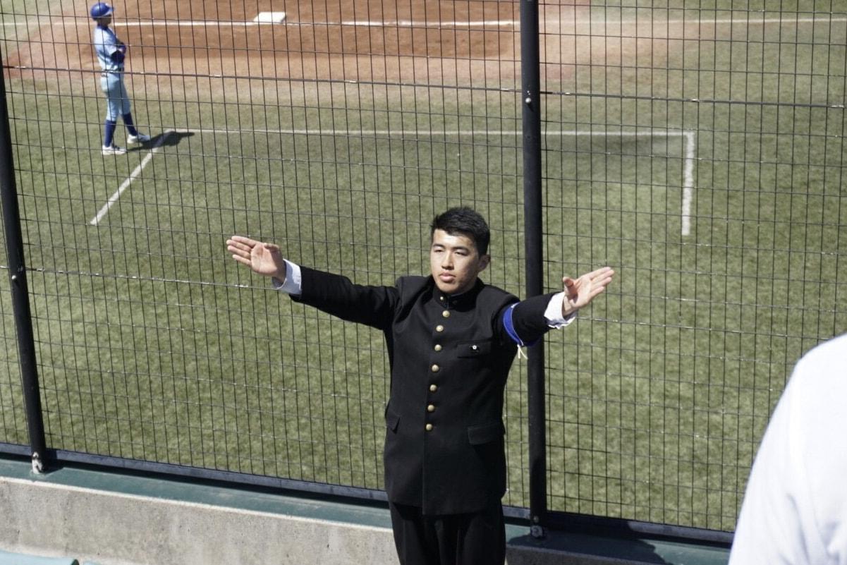 春季首都大学野球連盟リーグ戦対筑波大学第1戦
