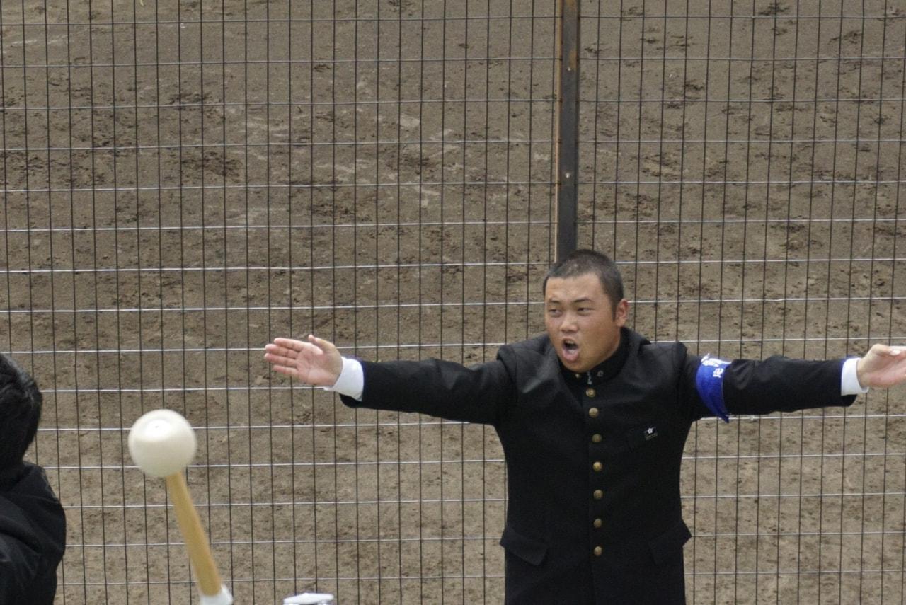 秋季首都大学野球連盟リーグ戦対帝京大学第1戦