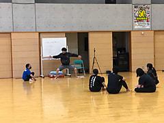 ダンス部の練習風景