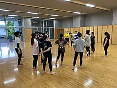 ダンス部の練習風景です!!
