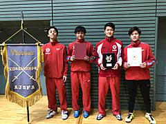 第59回全日本学生フェンシング選手権大会男子エペ団体戦優勝報告