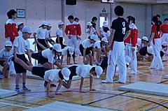 桃園第二小学校 模範演技および授業補助