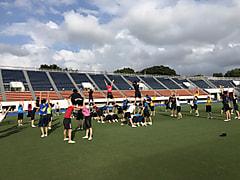 「第58回1000万人ラジオ体操・みんなの体操祭in東京」リハーサル終了