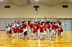 組立体操集中練習発表会