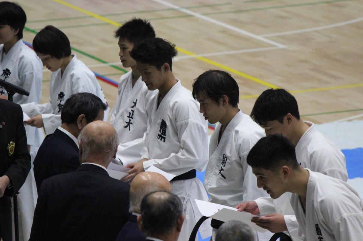 第29回関東学生空手道体重別選手権大会 結果報告