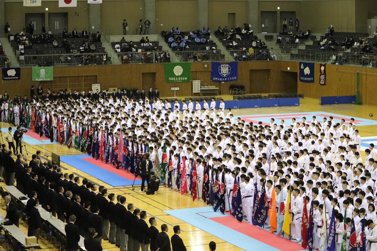 第63回全日本大学空手道選手権大会 結果報告