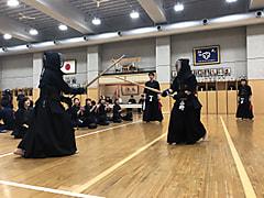 世田谷六大学学生剣道大会壮行式