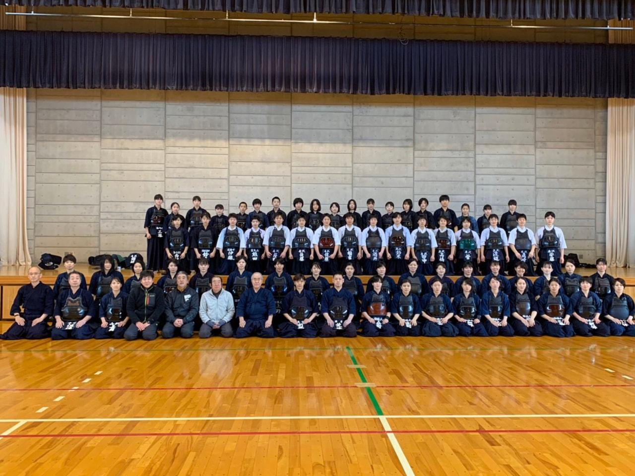 山形県高校女子剣道強化講習会2日目