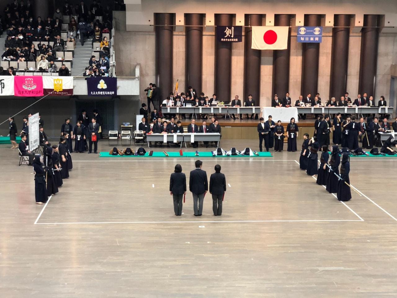 第20回関東女子学生剣道新人戦大会