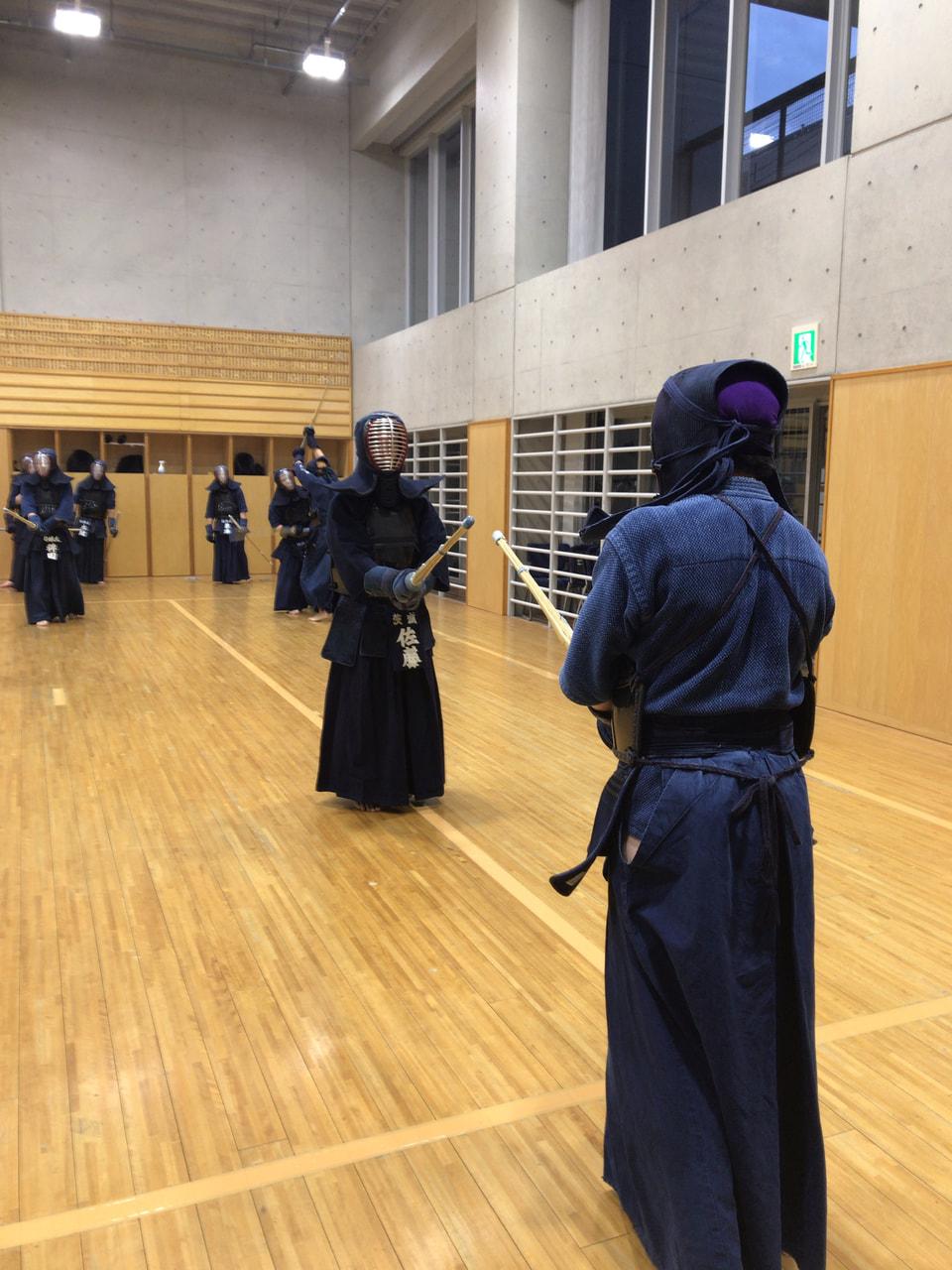 寒稽古10日目、第8回日本体育大学剣道部 剣道祭、祝勝会