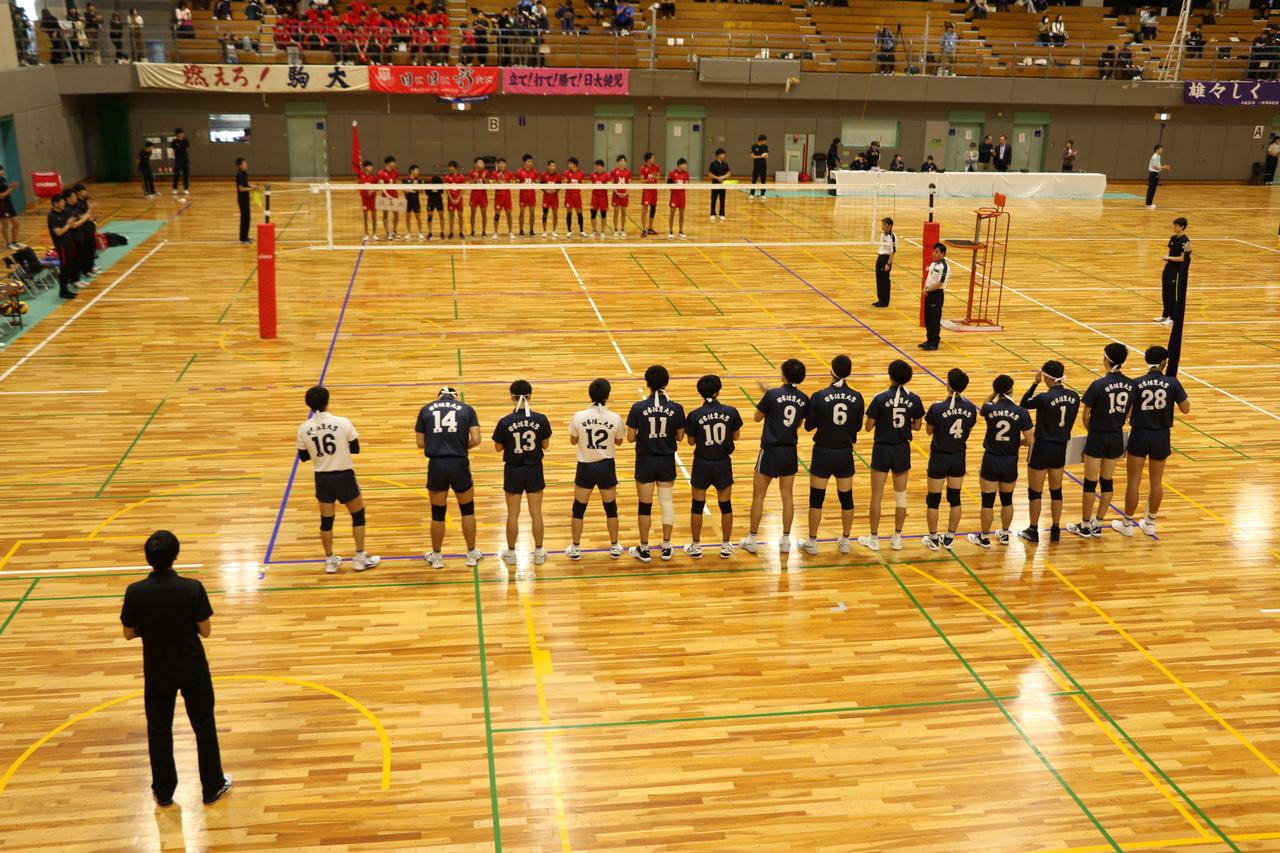 【取材報告】2019年度秋季関東大学男子1部バレーボールリーグ戦
