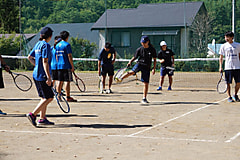 夏季合宿 テニス