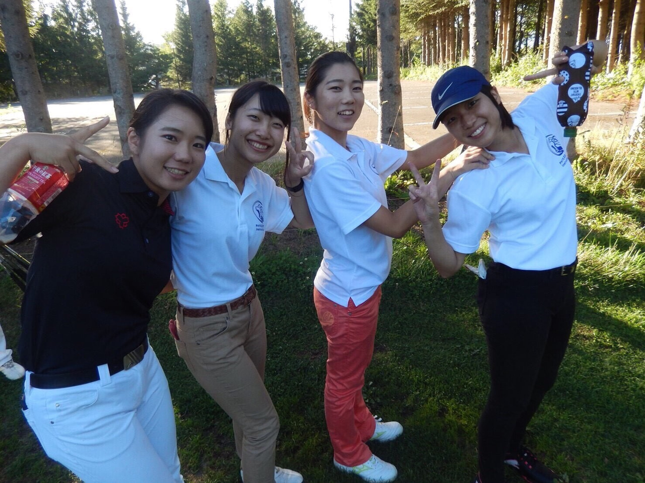 夏合宿 ゴルフ