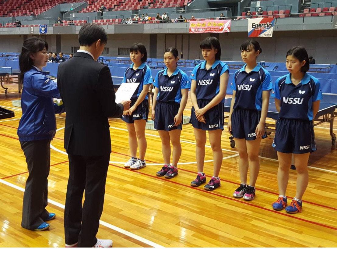 第72回 ひろしま国際オープン卓球選手権
