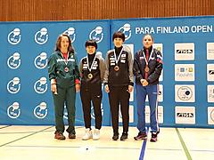 友野 ITTFパラフィンランドオープン優勝!!