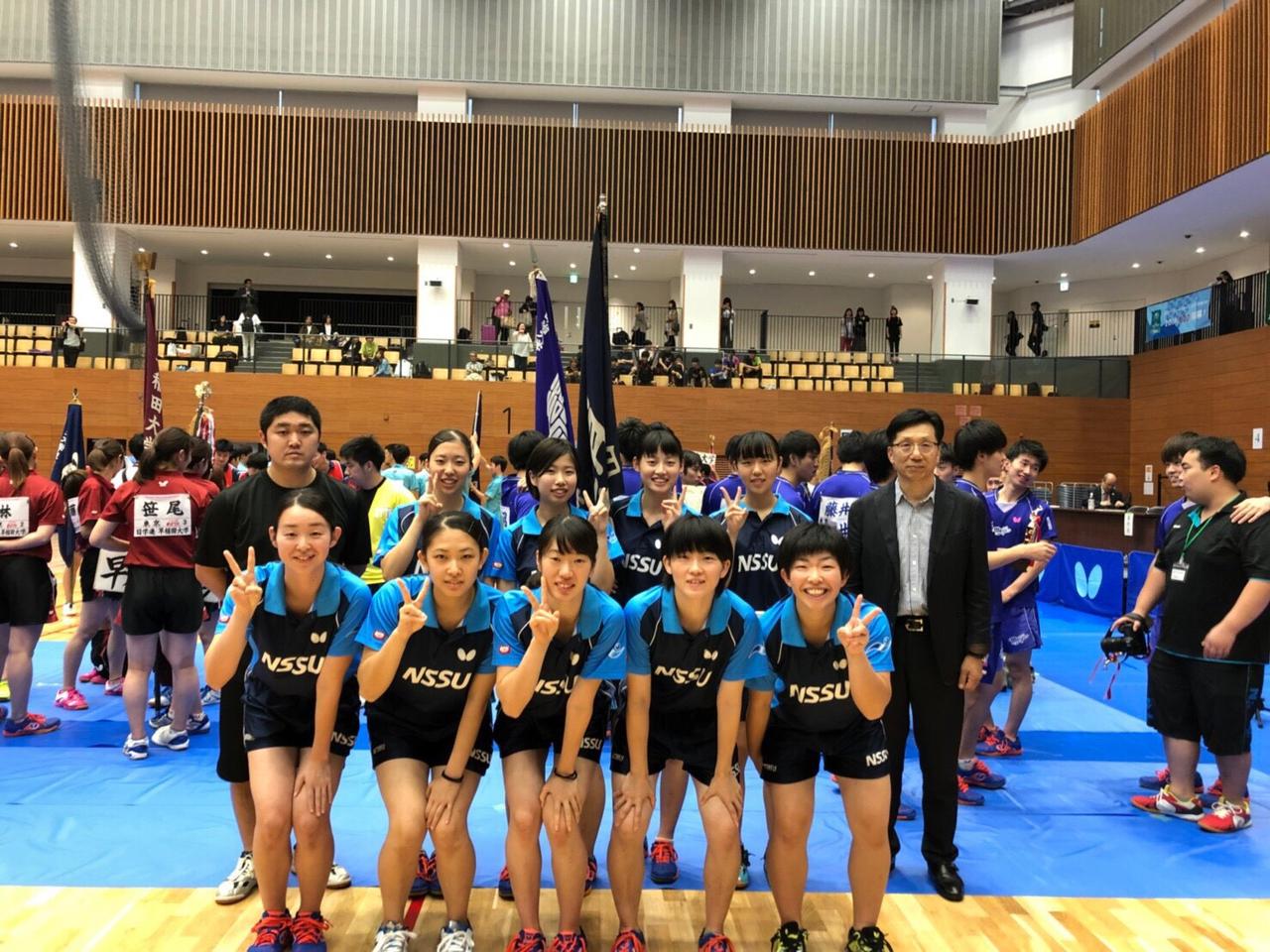 秋季関東学生卓球リーグ戦 後半戦