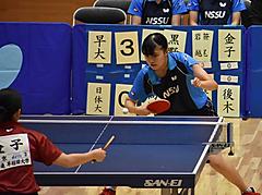令和元年度 秋季関東学生卓球リーグ戦・前半戦