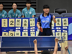 令和元年度 秋季関東学生卓球リーグ戦 後半戦