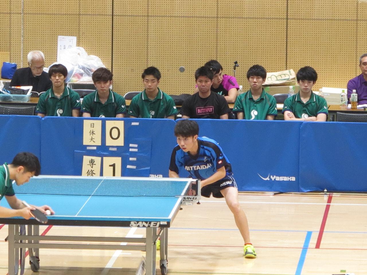 第88回全日本大学総合卓球選手権大会(団体の部)