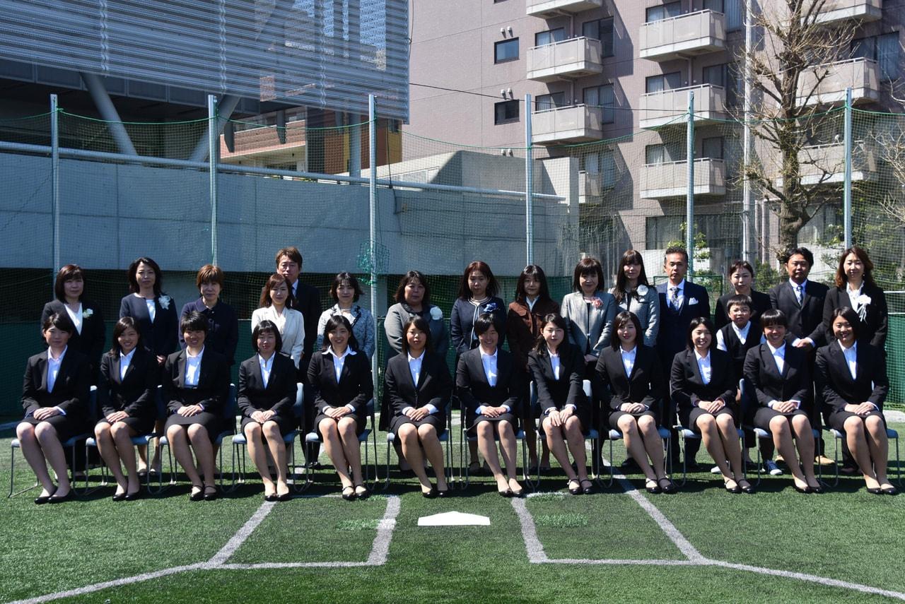 【女子】平成31年度入学式