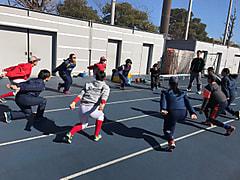 【女子】湘南学院、帝京第三高校   合同練習